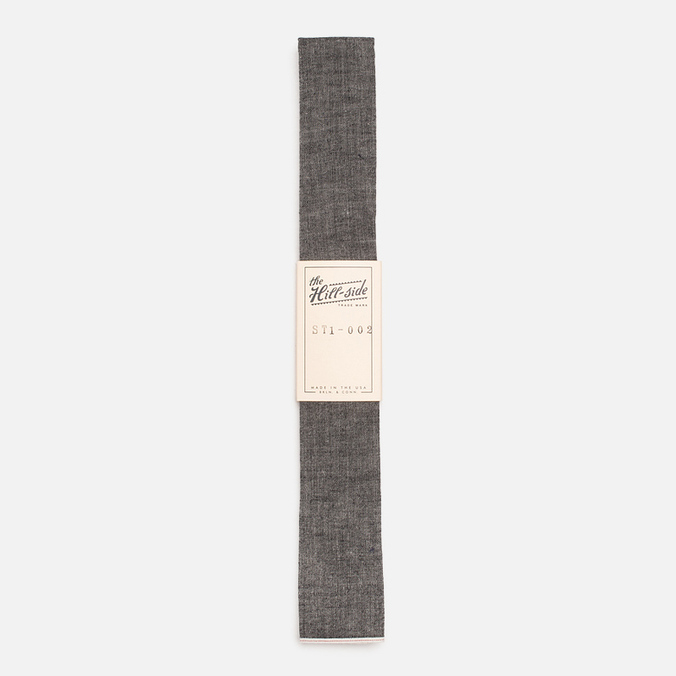 Мужской галстук The Hill-Side Selvedge Chambray Black