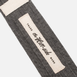 Мужской галстук The Hill-Side Selvedge Chambray Black фото- 1