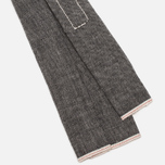 Мужской галстук The Hill-Side Selvedge Chambray Black фото- 3