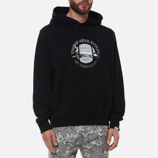 Мужская толстовка thisisneverthat Spaceship Hooded Black