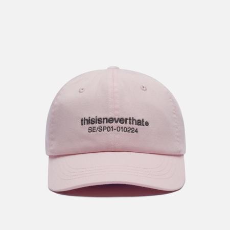 Кепка thisisneverthat T-Logo Skater, цвет розовый