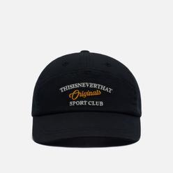 Кепка thisisneverthat Sport Club 7 Panel Black
