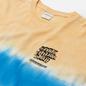 Мужской лонгслив thisisneverthat Tie Dye Stripe Lemon фото - 1