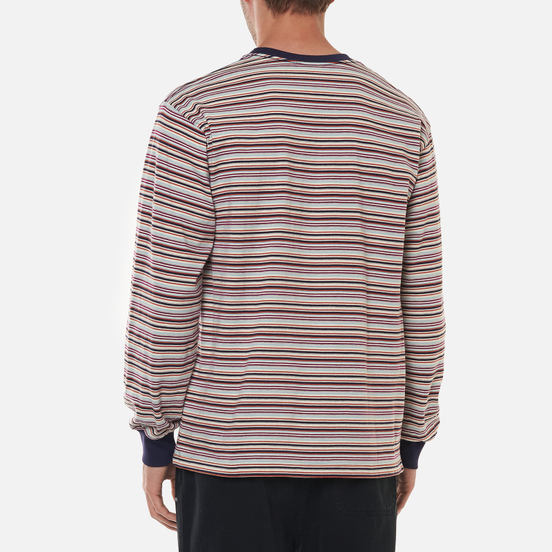Мужской лонгслив thisisneverthat Striped Multicolor 1