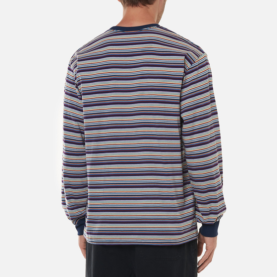 Мужской лонгслив thisisneverthat Striped Multicolor 3