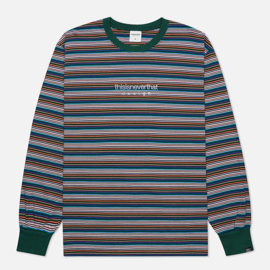 Мужской лонгслив thisisneverthat Striped Multicolor 2