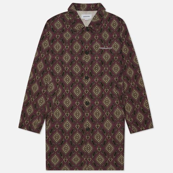 Мужское пальто thisisneverthat Moroccan Overcoat Burgundy