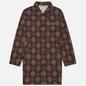 Мужское пальто thisisneverthat Moroccan Overcoat Burgundy фото - 0