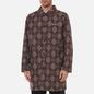 Мужское пальто thisisneverthat Moroccan Overcoat Burgundy фото - 2