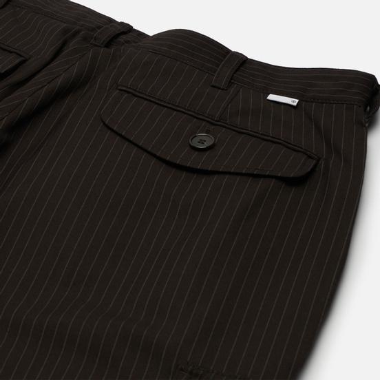 Мужские брюки thisisneverthat Striped Cargo Brown