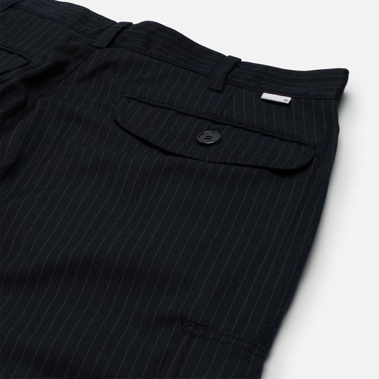 Мужские брюки thisisneverthat Striped Cargo Navy