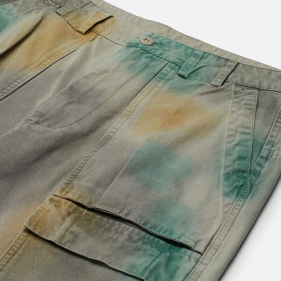 Мужские брюки thisisneverthat Fatigue Green/Yellow