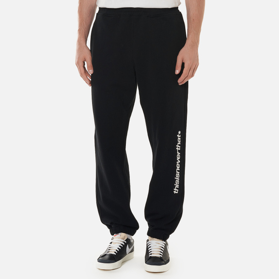 Мужские брюки thisisneverthat SP-Logo Sweat Black