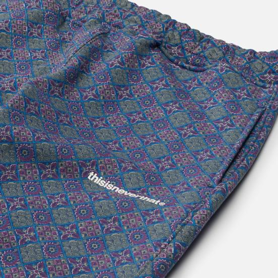 Мужские брюки thisisneverthat Tile Sweat Blue/Purple