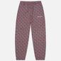 Мужские брюки thisisneverthat Tile Sweat Burgundy/Navy фото - 0