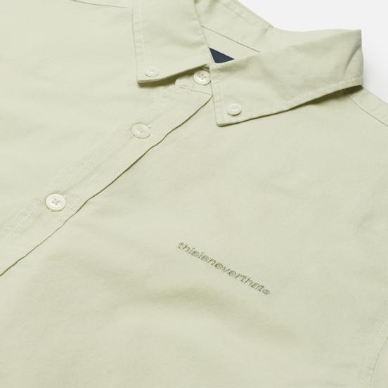 Мужская рубашка thisisneverthat T-Logo Oxford A. Light Green
