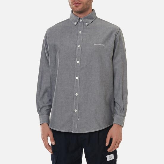 Мужская рубашка thisisneverthat T-Logo Oxford Black
