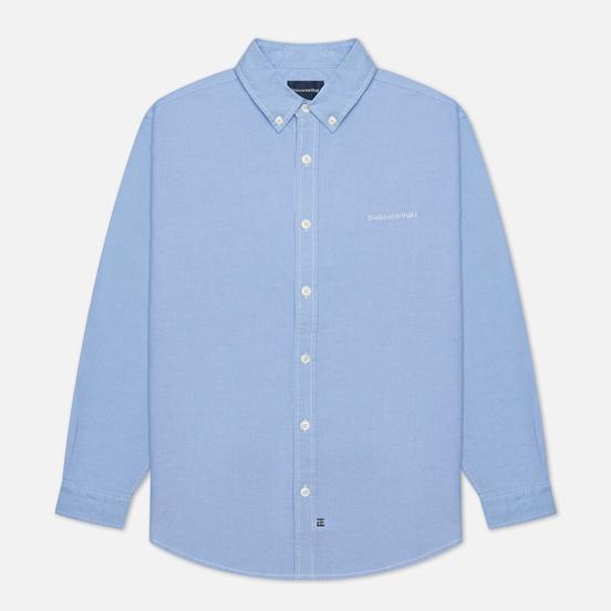 Мужская рубашка thisisneverthat T-Logo Oxford Blue