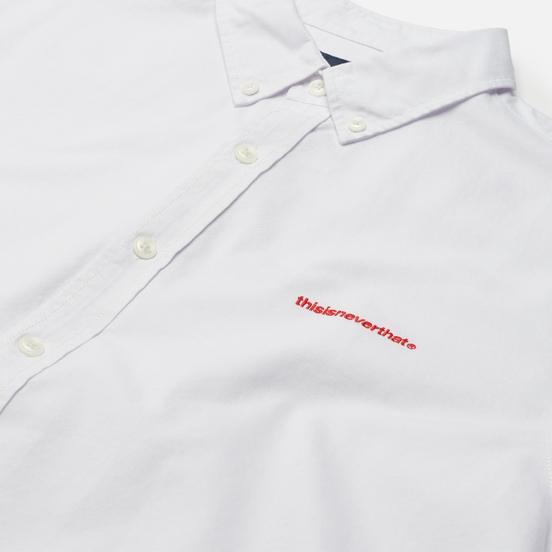 Мужская рубашка thisisneverthat T-Logo Oxford White