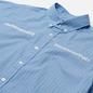 Мужская рубашка thisisneverthat MI-Logo Striped Blue фото - 1