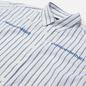 Мужская рубашка thisisneverthat MI-Logo Striped White фото - 1