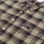 Мужская рубашка thisisneverthat Plaid Twill Greenish Black фото - 1