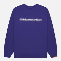 Мужская толстовка thisisneverthat ESP-Logo Crewneck Purple
