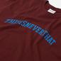 Мужская футболка thisisneverthat ARC Logo Burgundy фото - 1
