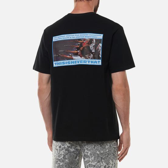 Мужская футболка thisisneverthat Shooting Black