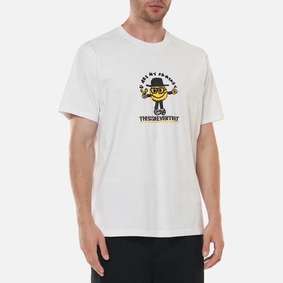Мужская футболка thisisneverthat Goodman White
