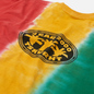 Мужская футболка thisisneverthat Vertical Tie Dye Green/Yellow/Red фото - 2