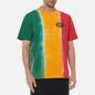 Мужская футболка thisisneverthat Vertical Tie Dye Green/Yellow/Red фото - 3
