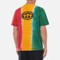 Мужская футболка thisisneverthat Vertical Tie Dye Green/Yellow/Red фото - 4