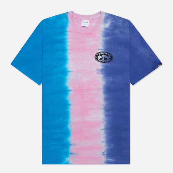 Мужская футболка thisisneverthat Vertical Tie Dye Blue/Pink/Violet