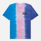 Мужская футболка thisisneverthat Vertical Tie Dye Blue/Pink/Violet фото - 0