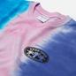 Мужская футболка thisisneverthat Vertical Tie Dye Blue/Pink/Violet фото - 1