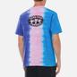 Мужская футболка thisisneverthat Vertical Tie Dye Blue/Pink/Violet фото - 4