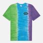 Мужская футболка thisisneverthat Vertical Tie Dye Green/Blue/Purple фото - 0