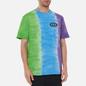 Мужская футболка thisisneverthat Vertical Tie Dye Green/Blue/Purple фото - 3