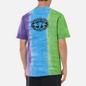 Мужская футболка thisisneverthat Vertical Tie Dye Green/Blue/Purple фото - 4
