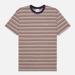 Мужская футболка thisisneverthat L-Logo Striped Multicolor 1