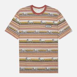 Мужская футболка thisisneverthat Printed Lion Stripe Multicolor 1