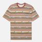 Мужская футболка thisisneverthat Printed Lion Stripe Multicolor 1 фото - 0