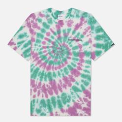 Мужская футболка thisisneverthat Tie Dye Teal/Purple