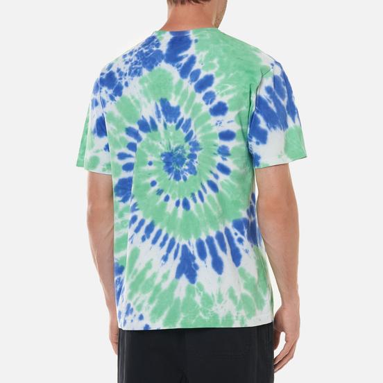 Мужская футболка thisisneverthat Tie Dye Green/Violet