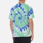 Мужская футболка thisisneverthat Tie Dye Green/Violet фото - 3