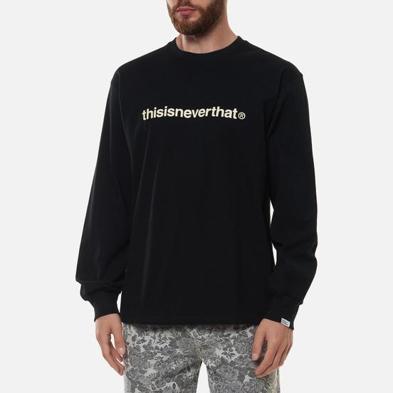 Мужской лонгслив thisisneverthat T-Logo Black