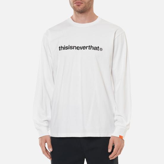 Мужской лонгслив thisisneverthat T-Logo White