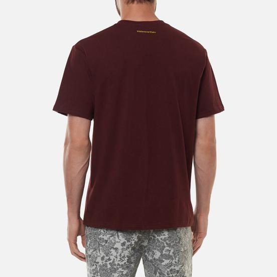 Мужская футболка thisisneverthat T-Logo Burgundy