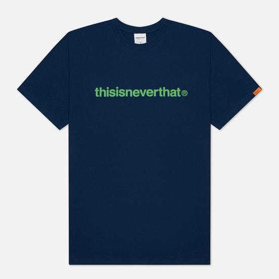 Мужская футболка thisisneverthat T-Logo Navy